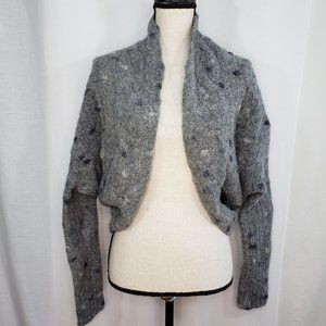 Bird Juicy Couture Sweater M/L Open Front Cardigan